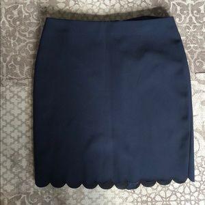 Banana Republic Navy Pencil Skirt